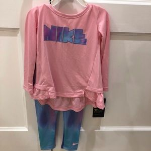Nike Dri Fit 2 piece casual set